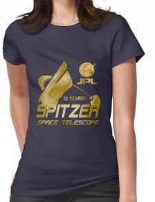 10th Anniversary of the Spitzer Space Telescope Womens Fitted T-Shirt