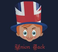 Union Jack T-shirt design One Piece - Short Sleeve
