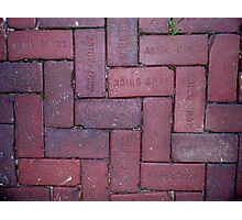 Thick As A Brick Photographic Print