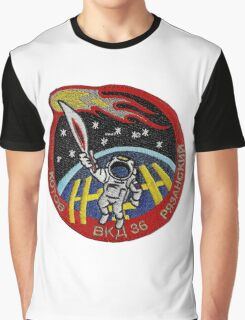 Soyuz and the Olympic Torch Logo Graphic T-Shirt