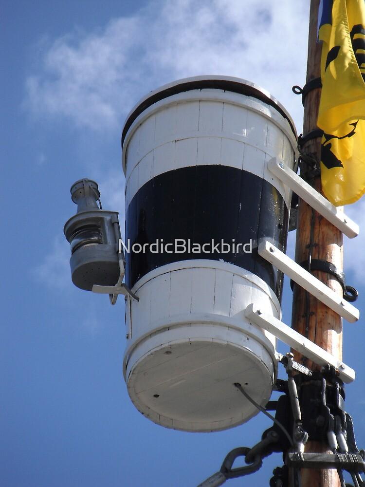 Heland's crow's nest & light by NordicBlackbird