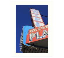 Plaza Motel Art Print