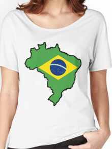 Brazil Women's Relaxed Fit T-Shirt
