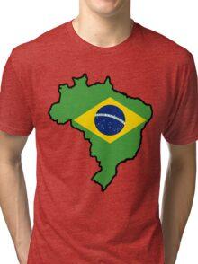Brazil Tri-blend T-Shirt