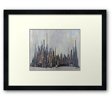 Manhattan High Framed Print