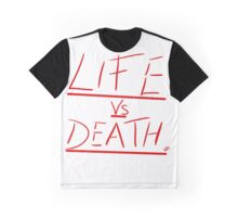 Life vs Death Graphic T-Shirt