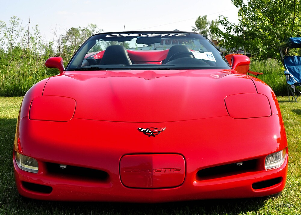 Red Corvette Edited by mltrue