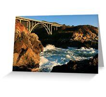 #1119  Mal Paso Bridge Greeting Card