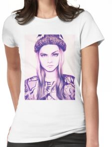 Cara Delevingne Womens Fitted T-Shirt