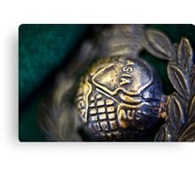 Globe and Laurel Canvas Print