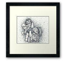 SteamPony The Doctor-Derpy Framed Print