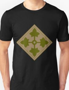 Fourth Infantry Division Insignia Unisex T-Shirt