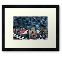 Honor & Rememeber Framed Print