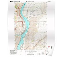 USGS Topo Map Washington State WA Entiat 241066 2003 24000 Poster