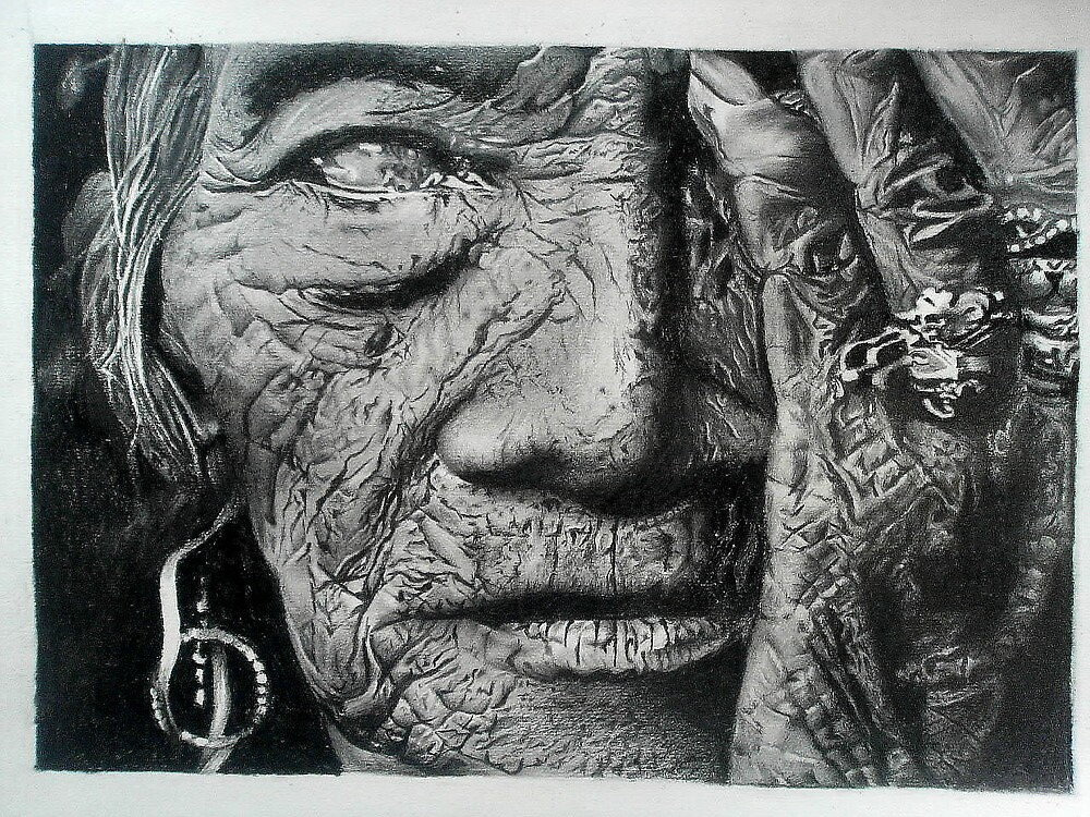 Aching loneliness of life by Sohaj Singh  Brar