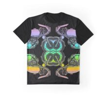 Motorcycle Pattern Graphic T-Shirt