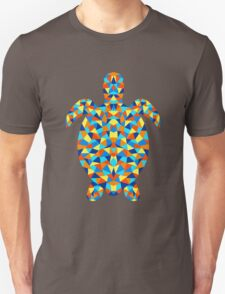 Polygonal Turtle Unisex T-Shirt