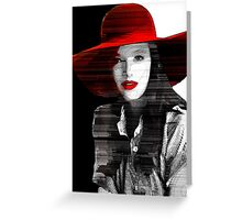 *The Red Hat* Greeting Card