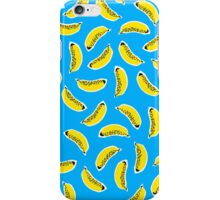 BANANA FRENZY (BLUE) iPhone Case/Skin
