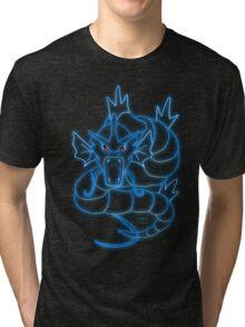 Neon Gyrados Tri-blend T-Shirt