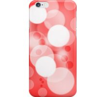 Bubble Red iPhone Case/Skin