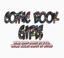 Comic Book Girls Logo by iamascientist