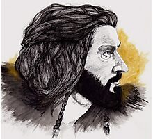 Thorin Oakenshield - King Under the Mountain  Photographic Print