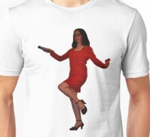 Geeky Pin-Up:  Mystery Hunter Unisex T-Shirt