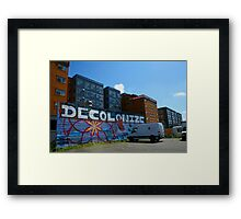 Being Ironic? Framed Print