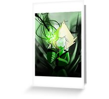 Peridot Greeting Card