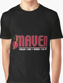 MAVEN Logo for Dark Colors Graphic T-Shirt