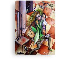Mantis Religiosa Canvas Print