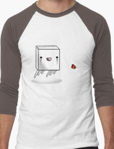 Cute Ghast Men's Baseball ¾ T-Shirt