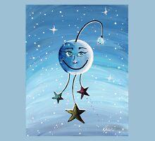 Mr. Moon - Kids Art by Valentina Miletic Unisex T-Shirt