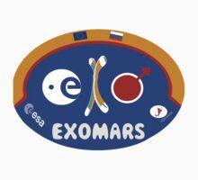 ExoMars (Exobiology on Mars) Program Logo Kids Clothes