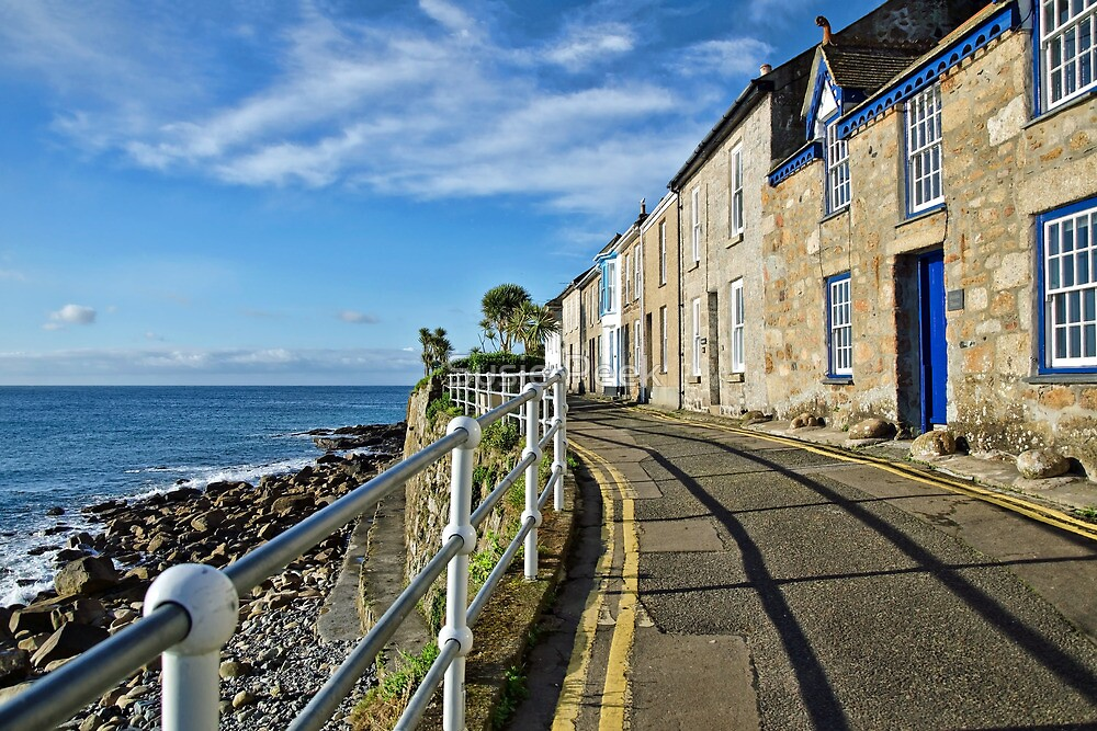 Terraced Cottages ~ Mousehole by Susie Peek