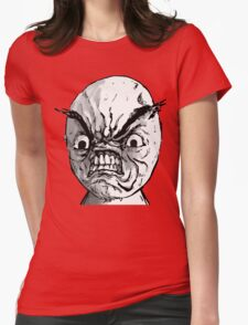 RAGE TROLL Womens Fitted T-Shirt