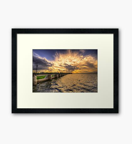 Our Changing Weather Framed Print