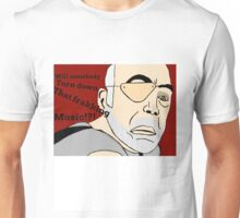 XO of the Battlestar Galactica, Colonel Saul Tigh Unisex T-Shirt