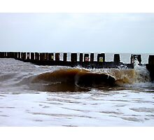 The Egotistical Wave! Photographic Print