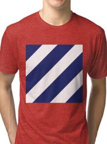 Third Infantry Division (3ID) Insignia Tri-blend T-Shirt