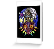 Majora's Mask Stained Glass Greeting Card