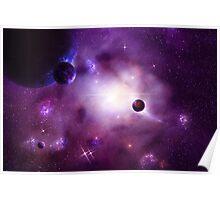 Nebula Cluster Poster