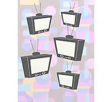 Retro TV  Photographic Print