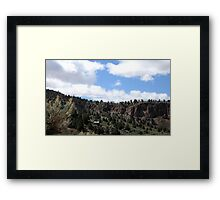 Hidden Mine Framed Print