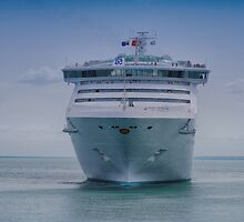 On the Bow Sea Princess by Christopher Houghton