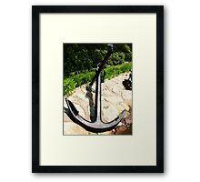Anchors Away II Framed Print