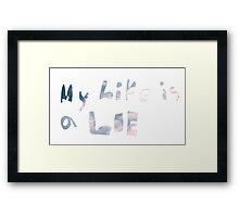 Yep Framed Print
