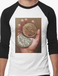 HEAVY POCKETS Men's Baseball ¾ T-Shirt