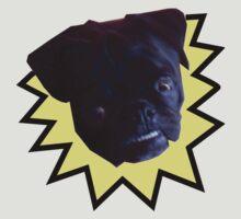 Overbite Black Pug by epod16